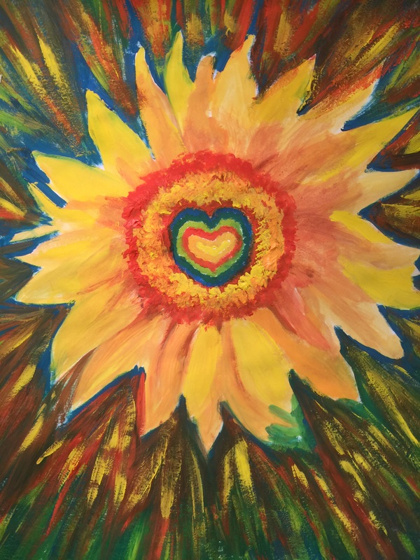The Healing Sunflower